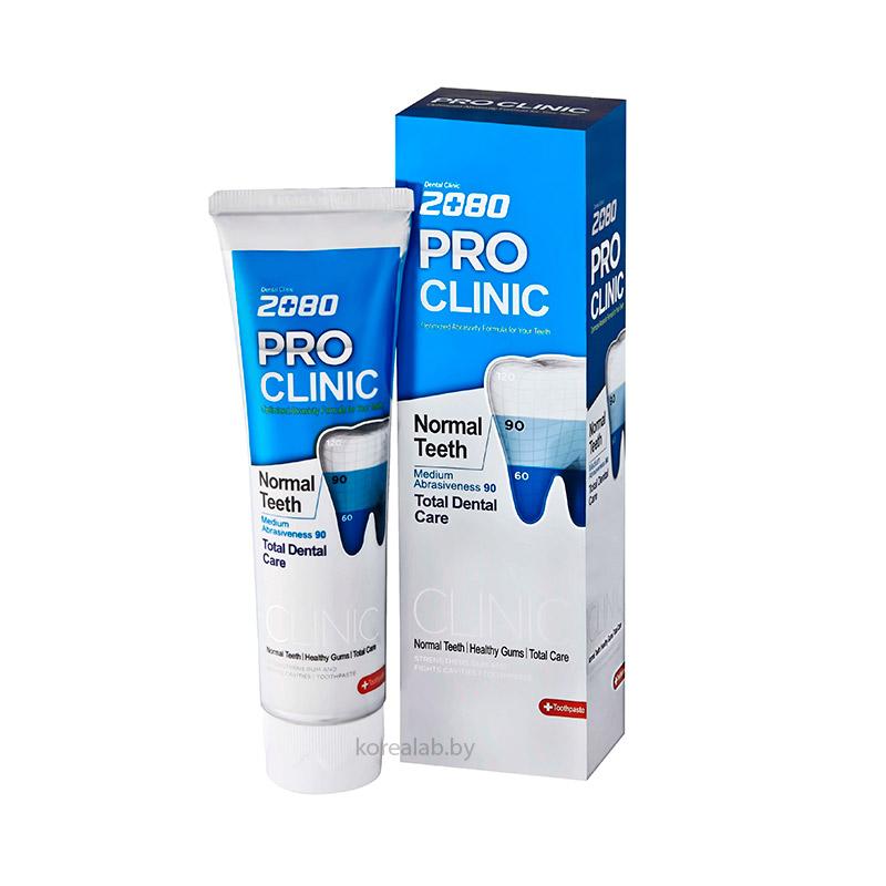 Зубная паста профессиональная защита Dental Clinic 2080 Pro Clinic Toothpaste Blue 125 гр