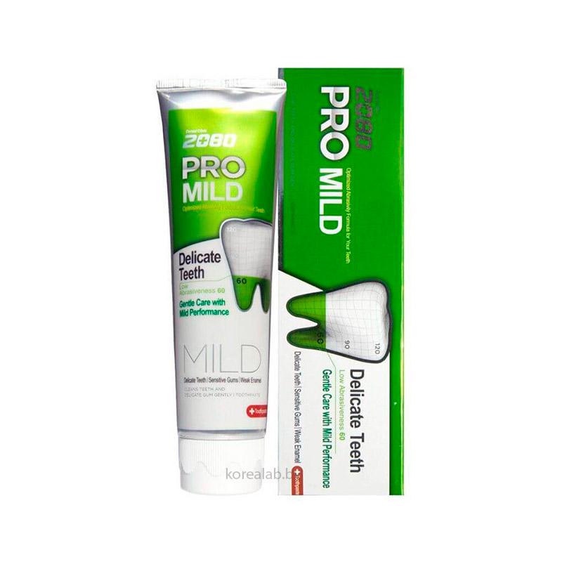 Зубная паста для чувствительных зубов Dental Clinic 2080 Pro Mild Delicate Teeth 125 гр