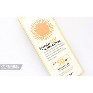 Солнцезащитный крем 3W CLINIC Intensive UV Sun Block Cream SPF 50+ PA+++ - 70ml