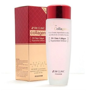 Тонер для лица с коллагеном 3W CLINIC Collagen Regeneration Softener - 150ml