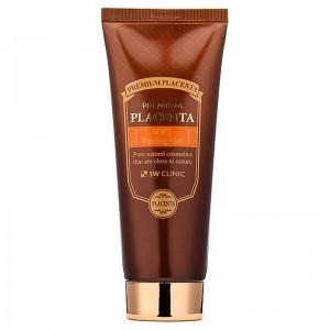 Пилинг для лица 3W CLINIC Premium Placenta Soft Peeling Gel 180 мл
