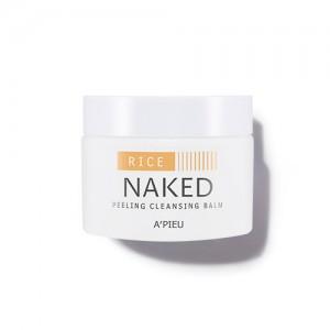 Очищающий бальзам-пилинг для лица A'PIEU Naked Peeling Cleansing Balm Rice - 45 гр