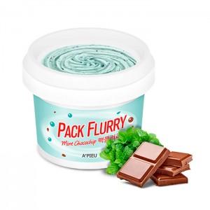 Маска-скраб для лица A'PIEU Pack Flurry Mint Сhocochip - 130 гр