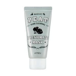 Маска для очищения и сужения пор A'PIEU Fresh Mate Peat Mask Pore Clearing - 50ml