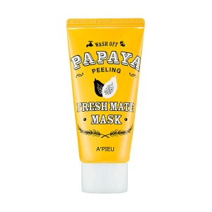 Очищающая маска для лица A'PIEU Fresh Mate Papaya Wash Off Mask (Peeling) - 50 мл
