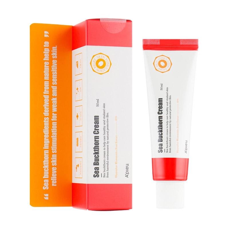 Восстанавливающий крем с маслом облепихи APIEU Sea Buckthorn Cream 50 мл
