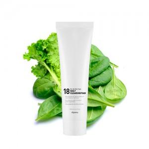 Очищающая пенка для молодой кожи A'PIEU 18 Daily Cleansing Foam - 130 мл