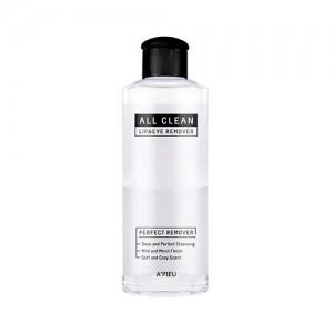 Жидкость для снятия макияжа A'PIEU All Clean Lip&Eye Remover White Lily - 160 мл