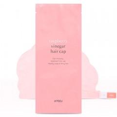 Маска-шапочка для волос A'PIEU Raspberry Vinegar Hair Cap - 35 гр