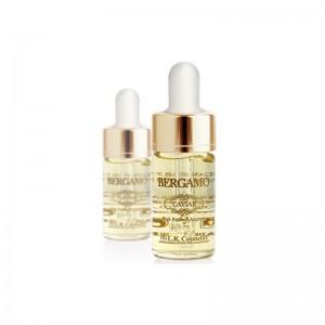 Сыворотка с золотом и икрой BERGAMO Luxury Gold Caviar Wrinkle Care Intense Repair Ampoule 4шт