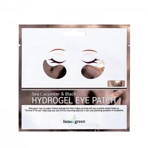 Гидрогелевые патчи для век BEAUUGREEN Sea Cucumber Black Hydrogel Eye Patch - 1 пара