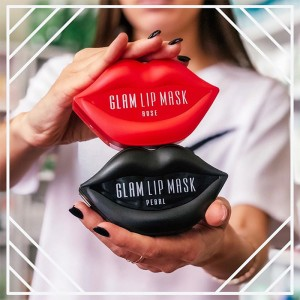 Гидрогелевые патчи для губ с жемчугом Beauugreen Hydrogel Glam Lip Mask Pearl - 20 шт
