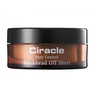 Салфетки для удаления черных точек и камедонов CIRACLE Blackhead Off Sheet - 40шт