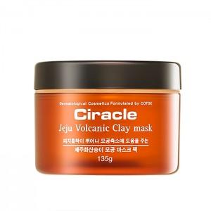Маска для лица с вулканической глиной CIRACLE Jeju Volcanic Clay Mask - 135 гр