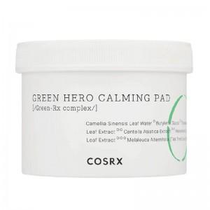 Успокающающие диски для лица COSRX One Step Green Hero Calming Pad 70 шт