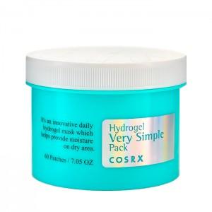 Гидрогелевые увлажняющие патчи-диски для лица COSRX Hydrogel Very Simple Pack - 60 шт