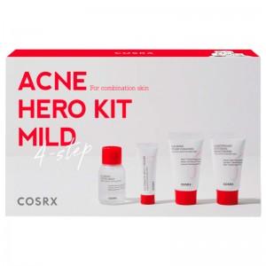Набор миниатюр для комбинированной кожи COSRX AC Collection Trial Kit Mild 2.0