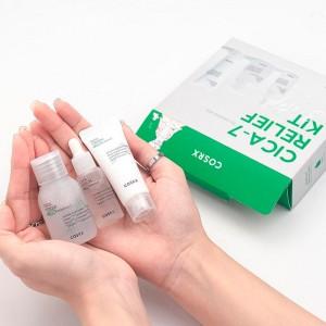 Набор миниатюр для чувствительной кожи COSRX Pure Fit Trial Cica-7 Relief Kit