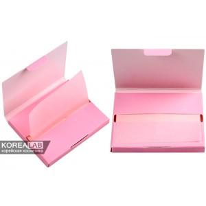 Матирующие розовые салфетки против жирного блеска CORINGCO Oil Control Sheet (Pink) - 100шт