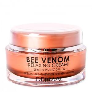 Крем для лица с пчелиным ядом DERMAL Bee Venom Relaxing Cream - 50ml