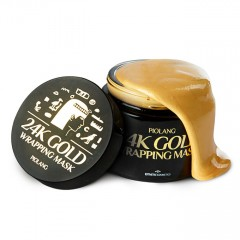 Маска-пленка для лица ESTHETIC HOUSE Piolang 24k Gold Wrapping Mask - 80ml