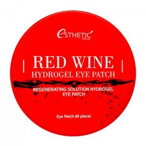 Гидрогелевые патчи для глаз с экстрактом красного вина ESTHETIC HOUSE Red Wine Hydrogel Eye Patch - 60 шт.