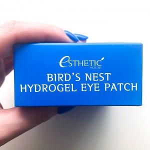 Гидрогелевые патчи для век с ласточкиным гнездом ESTHETIC HOUSE Bird's Nest Hydrogel Eye Patch - 30 пар