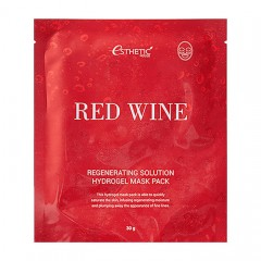 Гидрогелевая маска ESTHETIC HOUSE Red Wine Regenerating Solution Hydrogel Mask Pack - 28 мл