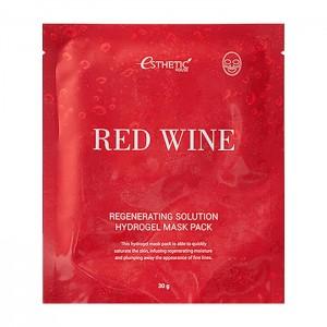 Гидрогелевая маска ESTHETIC HOUSE Red Wine Regenerating Solution Hydrogel Mask Pack - 28 мл