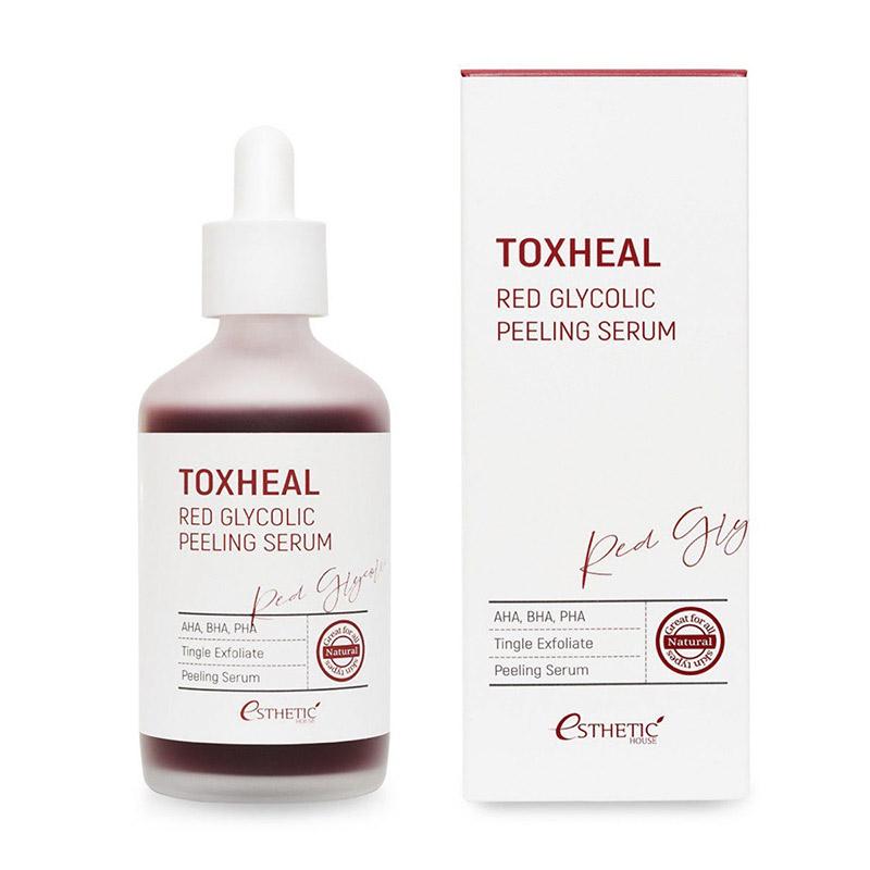пилинг сыворотка гликолевая toxheal red