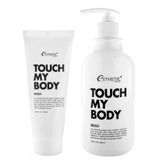 Гель для душа ESTHETIC HOUSE Touch My Body Goat Milk Body Wash - 100/500 мл