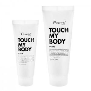 Скраб для тела ESTHETIC HOUSE Touch My Body Goat Milk Body Scrub - 100/250мл