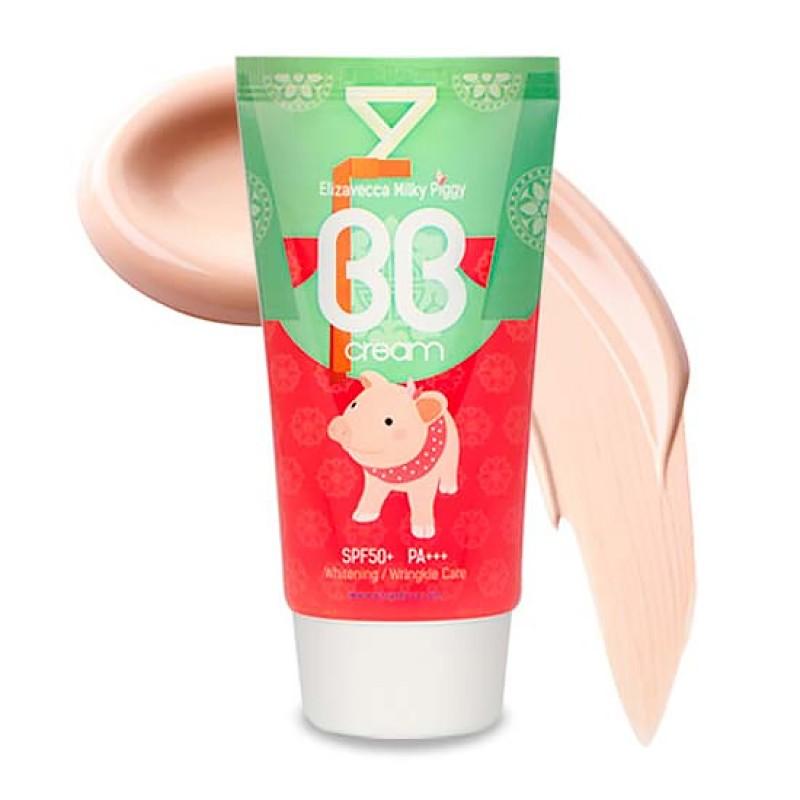 ББ крем ELIZAVECCA Milky Piggy BB Cream SPF50+ PA+++ 50 мл