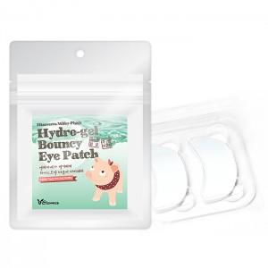 Набор патчей для кожи вокруг глаз ELIZAVECCA Milky Piggy Hydro-Gel Bouncy Eye Patch 20 шт
