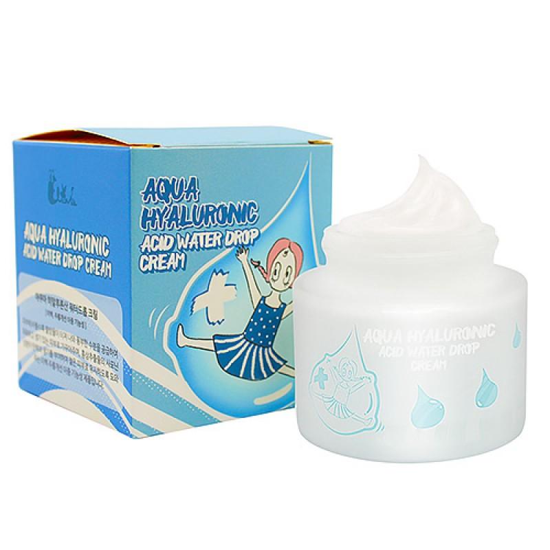 Увлажняющий гиалуроновый крем для лица ELIZAVECCA Aqua Hyaluronic Acid Water Drop Cream 50 мл