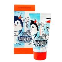 Черная маска-пенка ELIZAVECCA Hell-Pore Bubble Blackboom Pore Pack - 150 мл