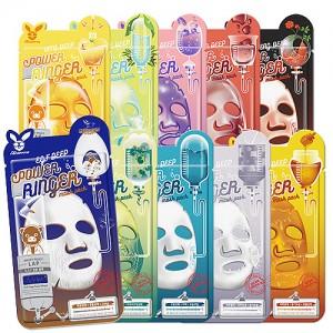 Тканевые маски для лица ELIZAVECCA Power Ringer Mask Pack 23 мл