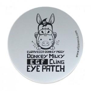 Патчи с молочными протеинами из биоцеллюлозы ELIZAVECCA Donkey Milky EGF Cling Eye Patch - 60 шт