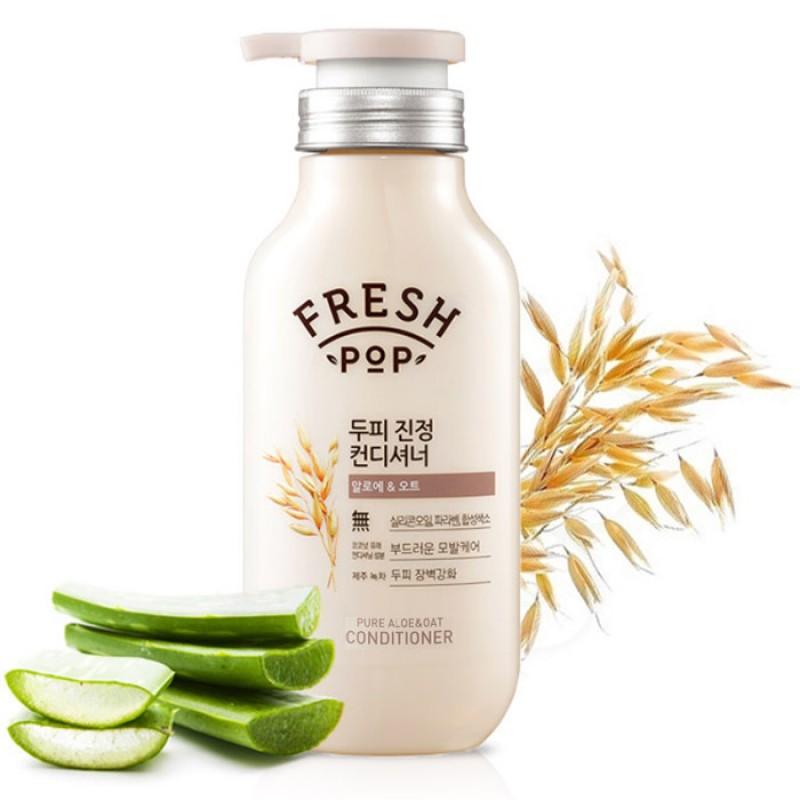 Кондиционер для чувствительной кожи FRESH POP Pure Aloe and Oat Conditioner 500 мл