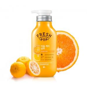 Шампунь для поврежденных волос с мандарином FRESH POP Mandarin Recipe Shampoo - 500мл
