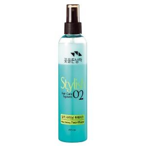 Термозащитный спрей для волос Flor de Man Hair Care System Stylish 02 Silky Shining Two-Phase - 255ml
