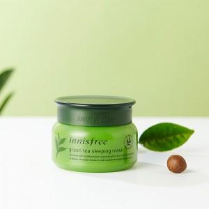 Ночная маска для лица с зеленым чаем INNISFREE Green Tea Sleeping Mask - 80 мл