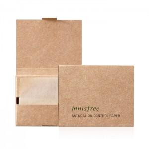 Матирующие салфетки для лица INNISFREE Natural Oil Control Paper - 50 шт