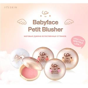 Румяна для лица It'S SKIN Babyface Petit Blusher