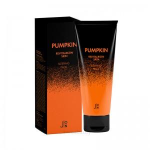 Обновляющая ночная маска с тыквой J:ON Pumpkin Revitalizing Skin Sleeping Pack 50 мл