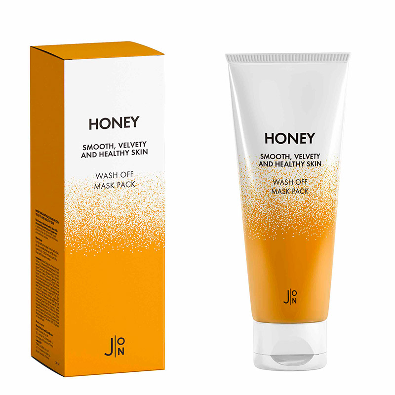 Смываемая маска с медом J ON Honey Smooth Velvety and Healthy Skin Wash Off Mask Pack 50 мл