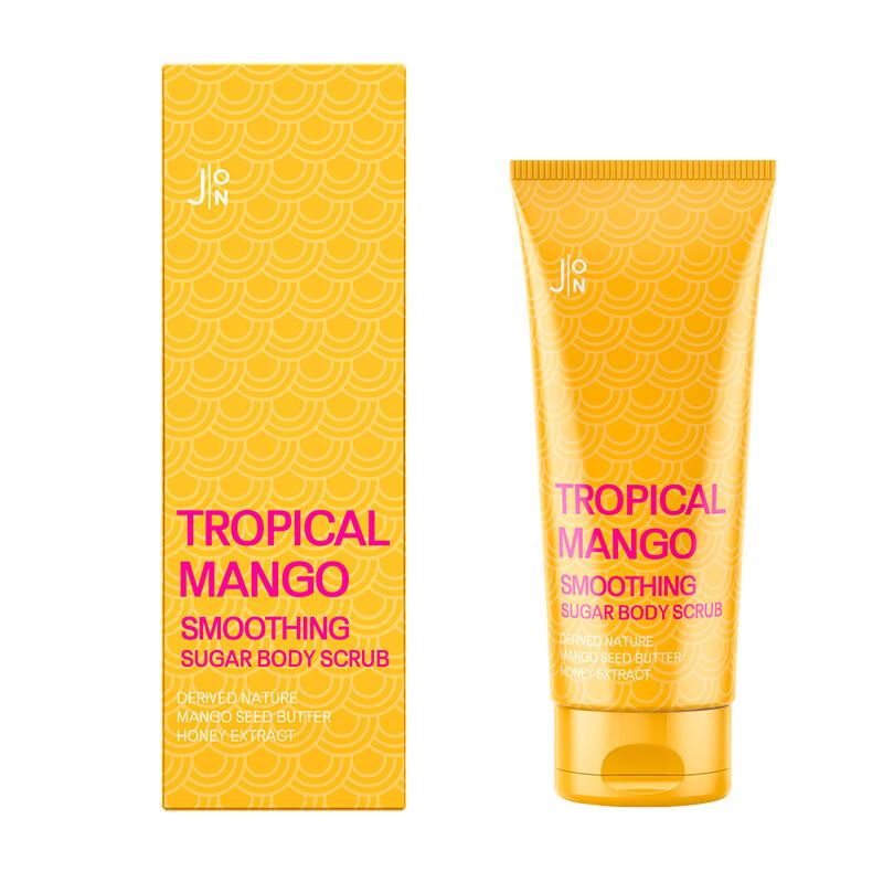 Скраб для тела с манго J ON Tropical Mango Smoothing Sugar Body Scrub 250 мл