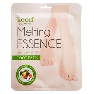 Смягчающая маска-носочки для стоп KOELF Melting ESSENCE Foot Pack - 14g