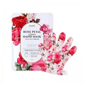 Маска-перчатки для рук KOELF Rose Petal Satin Hand Mask 16 гр