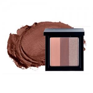 Тени для век трехцветные L'ARVORE Sunset Eyeshadow - Gold Brown - 10 гр.